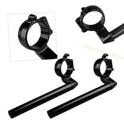 2Pcs Motorcycle Handlebar Handle Bar For Honda CBR600RR CBR 600 RR 2007 2008 2009 2010 2011 2012 Black CNC