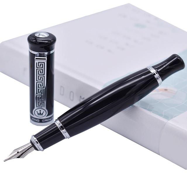Duke 558 stylo fontaine noir vif, stylo décriture de 0.7mm, Style Unique, bureau et fournitures pour la maison