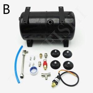 Image 2 - AS18B AS186 Model Air Pump Air Storage Tank Air Compressor Spray Pump 3.5L 4 Holes Air Tank