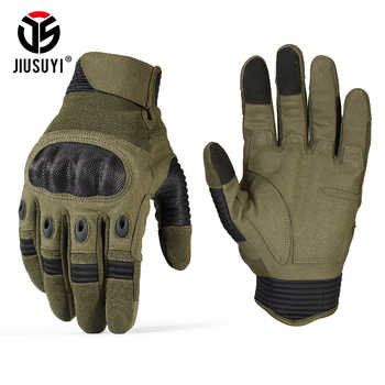 Touch Screen Army Military Tactical Gloves Paintball Airsoft Shooting Combat Anti-Skid Bicycle Hard Knuckle Full Finger Gloves - DISCOUNT ITEM  19% OFF All Category