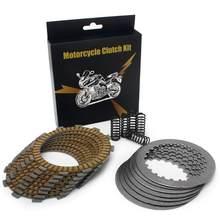 BIKINGBOY tarcze sprzęgła cierne + stalowe tarcze + sprężyny zestawy dla KTM 250 SX-F XC-F XCF-W 2005 2006 2007 2008 2009 2010 2011 2012
