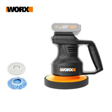 WORX 20V WX858 Cordless Electric Polisher 3800rpm 178mm  Auto Polishing Machine Car Polisher Floor Sanding Waxing Tools