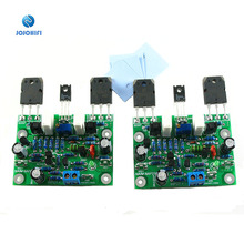 One Pair DIY KITS Finished Boards NAIM NAP250 80W 8R DC +-15V to DC +-40V MOD Dual Channel Stereo Channel Amplifier Board Board
