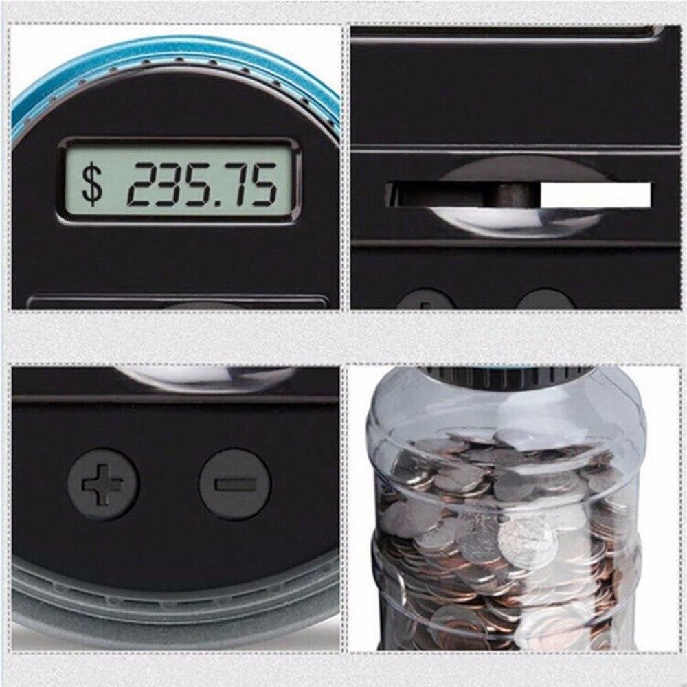Image 3 - Pantalla LCD de tamaño portátil, conteo Digital electrónico, Banco de monedas, caja de ahorro de dinero, tarro, caja de contador, mejor regalo, DropshippingCajas de dinero   -