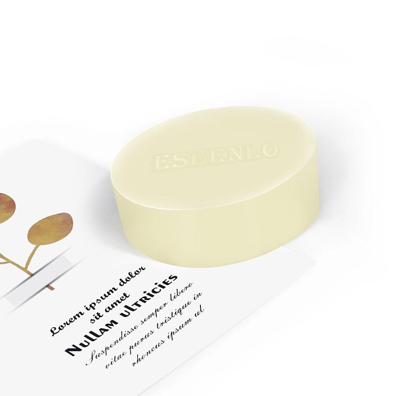 ESEENLO Sea Salt Soap Remove Pimple Pores Acne Treatment Cleaner Moisturizing Shea Butter Face Wash Soap Base Skin Care 80g 4