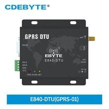 E840 DTU(GPRS 01) GPRS الإرسال والاستقبال اللاسلكية 5 قناة مقبس TCP UDP الأمر AT GSM RS485 RS232 واجهة