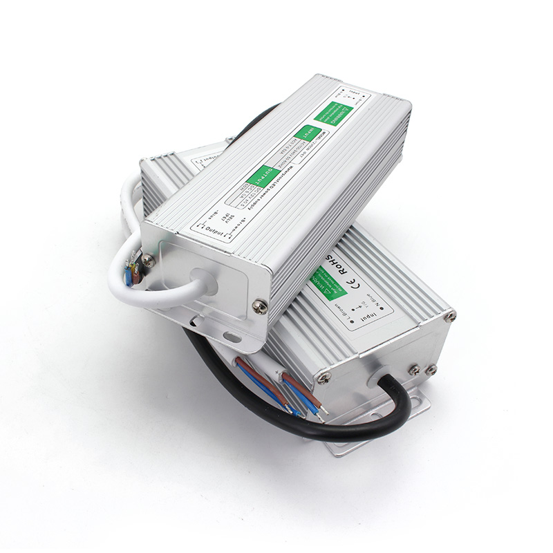 AC DC 12V 60W Labor Netzteil Wasserdicht Beleuchtung Outdoor Transformator IP67 AC DC Adapter Quelle Wandler Netzteil 220V ZU 12V