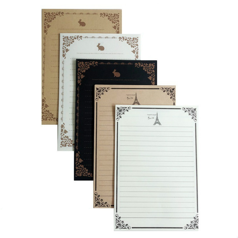 European Kraft Letter Paper Classical Kraft Paper Envelopes Love Wedding Invitation Envelope Gift Stationery Message Card Letter