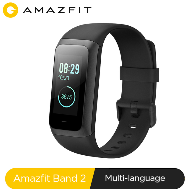 2019 New Amazfit Band 2 Smart Wrist Band Waterproof 5ATM Music Control 1