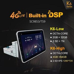 "Image 3 - Ownice k3 k5 k6 1280*720 10.1 ""Android10.0 Rotatable 1Din 2 דין אוניברסלי GPS Navi רכב סטריאו נגן רדיו 4G 360 פנורמה SPDIF"