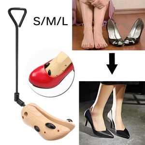 Image 3 - ABDB 1 Piece Adjustable Shoe Stretcher Expanded Code Wood Support Device Boot Of Leather Shoes High Heels Female Expansion