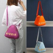 Нейлоновые мягкие сумки на плечо с высокой емкостью, модная Дизайнерская Дорожная сумка для женщин, фирменная маленькая сумка-тоут через пл...