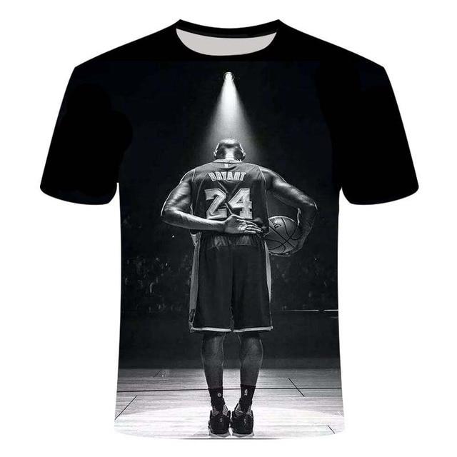 3D Printed Kobe Bryant T-shirt