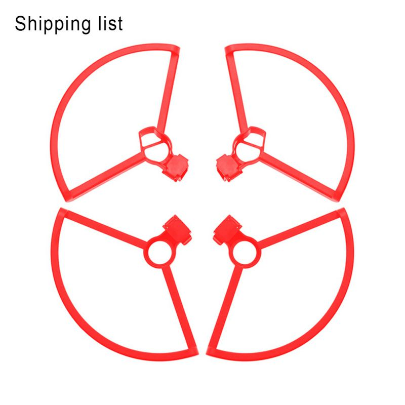 For 2in1 Propeller Guards + Remote Control Rocker Protector For Dji Mavic Mini Drone Quick-Release Protection Ring RC Quadcopter