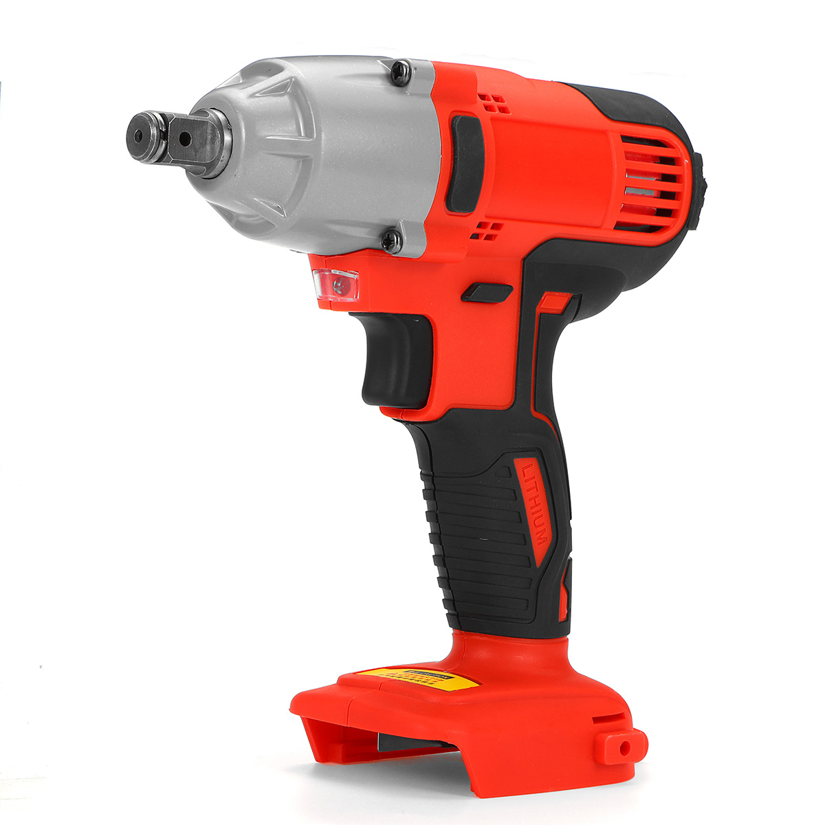 18V <font><b>480Nm</b></font> Impact Wrench Cordless Electric Wrench Replacement Power Tool Torque Rechargeable With <font><b>LED</b></font> Lights For Home Car Repaire image