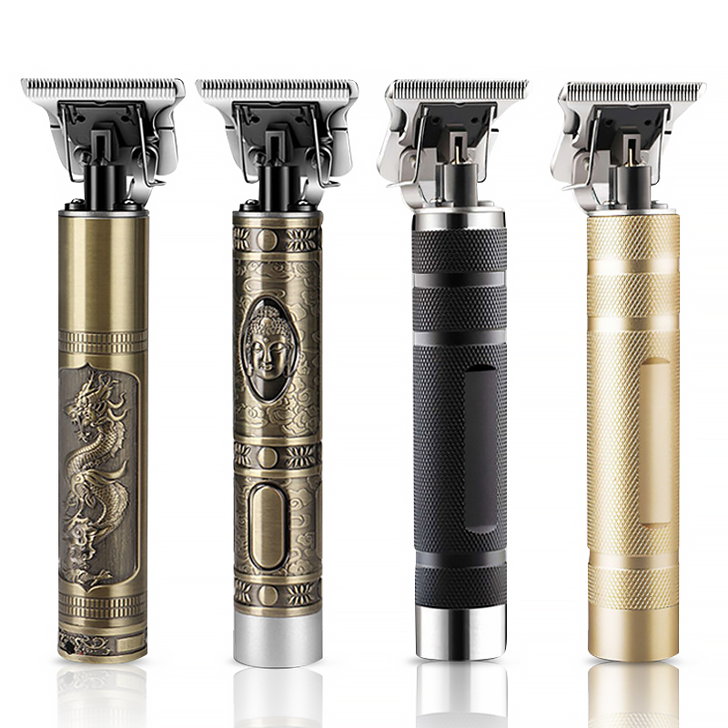 2020 USB Rechargeable Hair Clipper Electric hair trimmer Cordless Shaver Trimmer 0mm Men Barber Hair Cutting Machine for men