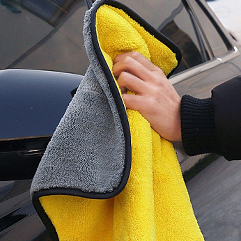 2020 автомобиля уход, полировка мыть Полотенца s плюшевые микрофибры чистки автомобиля полотенце для мойки и сушки Полотенца прочная широкая ...