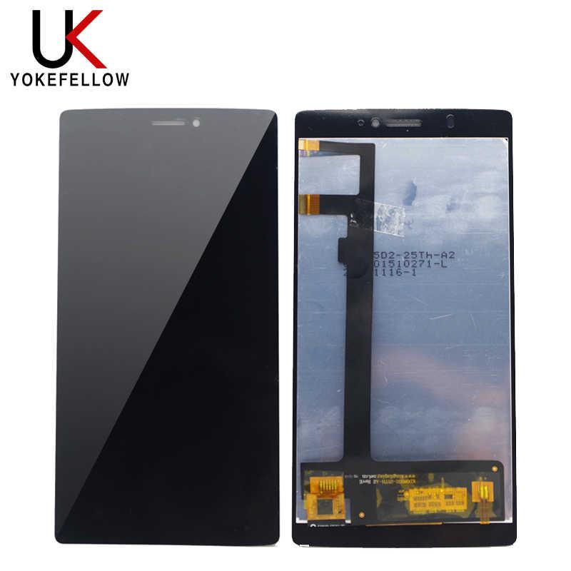 المحمول شاشات LCD للهواتف ل فيليبس الهدية S616L شاشة إل سي دي باللمس شاشة الجمعية تتبع عدد