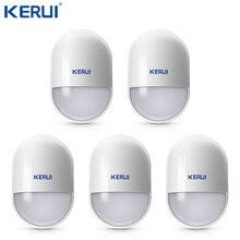 Kerui Detector de Sensor de Movimiento PIR inalámbrico inteligente P829, sistema de alarma de voz de seguridad para el hogar