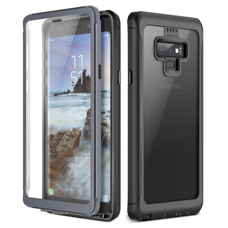 Rugged Bumper Case for Samsung <font><b>Galaxy</b></font> Note 9 10 S9 S8 Plus case PC TPU Back Cover For Samsung <font><b>Galaxy</b></font> <font><b>S10e</b></font> S10 plus Clean case image