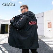 Gersri New Clothing Jackets Business Long Thick Winter Coat Fatty Men Parka Fashion Overcoat Outerwear Plus size XL-5XL 6XL