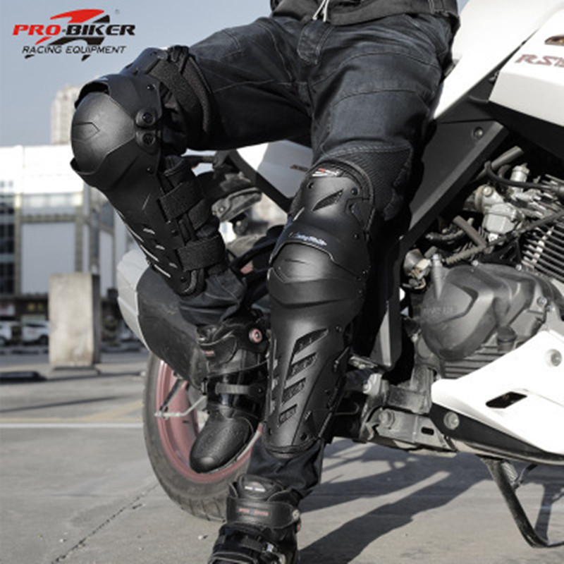 Motorcycle knee protector leg brace Rider Driver Kneepads Riding Racing Sking Sport knee Protective Gear CE certification HX P22|Motorcycle Protective Kneepad|Automobiles & Motorcycles - title=
