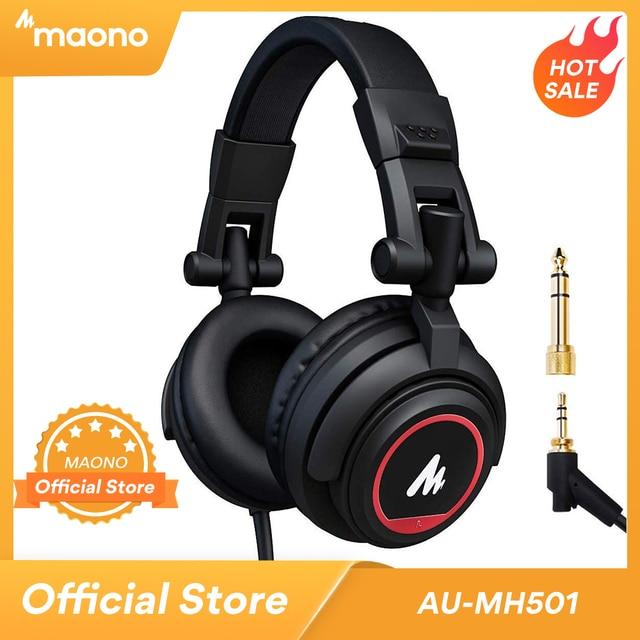 Professionale Studio Monitor Cuffie Over Ear con 50 millimetri Driver MAONO AU MH501