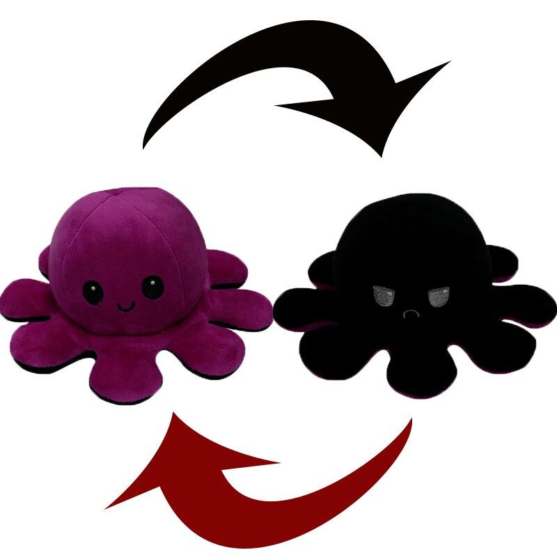 Reversible Octopus Stuffed Toy34