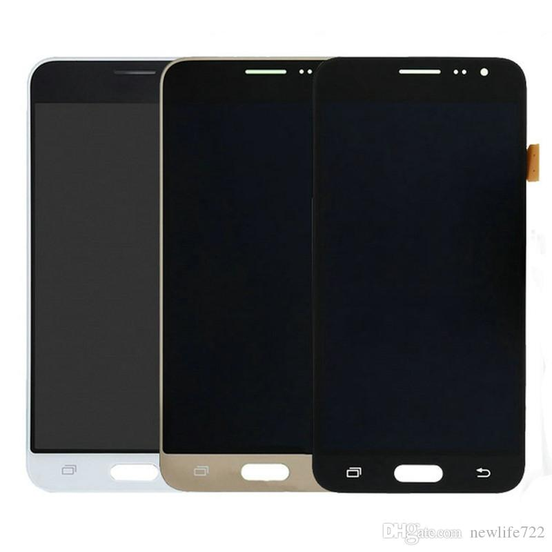 SUPER <font><b>AMOLED</b></font> J3 2016 <font><b>J320</b></font> J320A J320F <font><b>LCD</b></font> with frame for SAMSUNG Galaxy J320P J320M J320Y J320FN Display Touch Screen Digitizer image