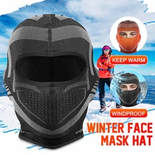 Hat Breatable Mask Head-Cap Balaclava Keep-Warm-Cover Motorcycle Winter Full-Face Windproof