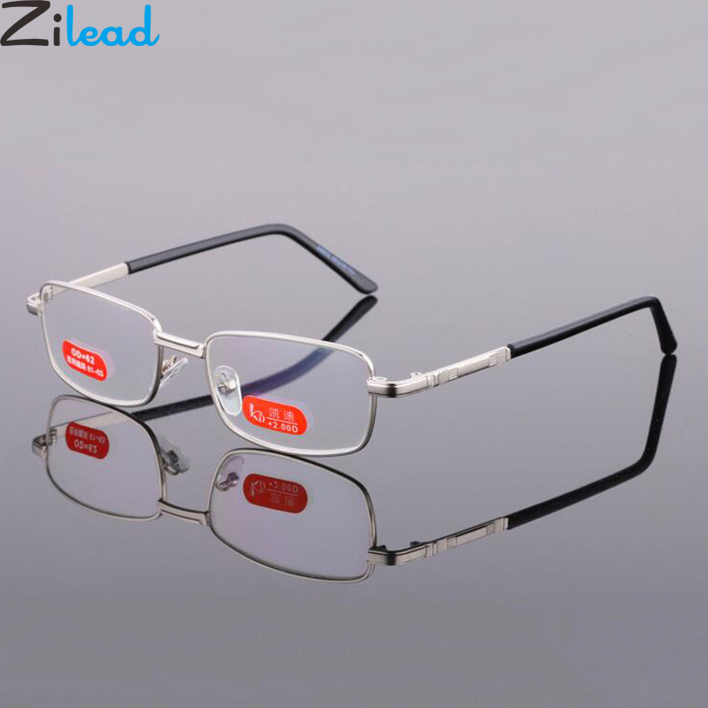 Zilead Anti Blue Light Glasses Reading Glasses For Women&Men Clear Lens Presbyopia Glasses Hyperopia Eyewear Unisex+1.0...+6.0