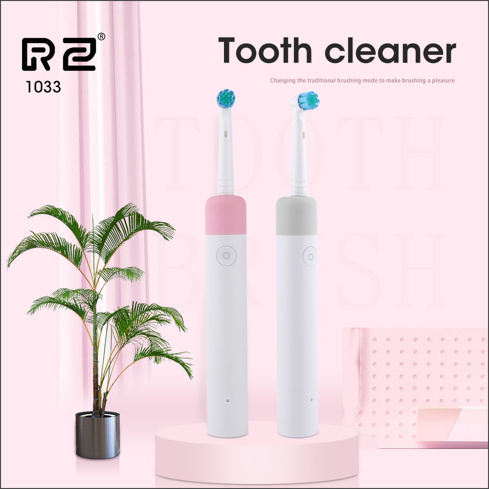 Electric Toothbrush With 2 Brush Heads Rechargeable Toothbrush For Adults and Braces with 2 brushing modes Electric Toothbrush image