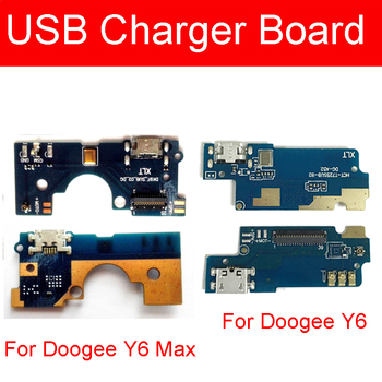 USB Charging Port Plug Board For Doogee Y6 Max Charger Jack Dock Connector Board Flex Cable For Doogee Y6 Replacement Parts