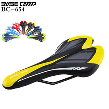 цена на BASECAMP Bicycle Saddle Carbon Fiber Skidproof Bike Saddle Seat Cushion Bicycle Parts MTB Road Bike Cycling Bicycle Saddle