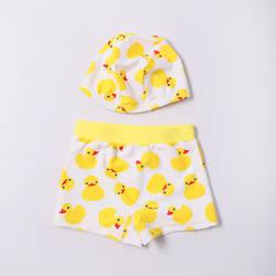 Новинка 2017 года; стильные детские плавки; маленькая Желтая утка; детские плавки для плавания