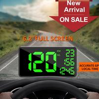 Universal Car Electronics GPS Car HUD Heads Up Display Large Screen Mileage Speedometer Hud Display Car Hud Display