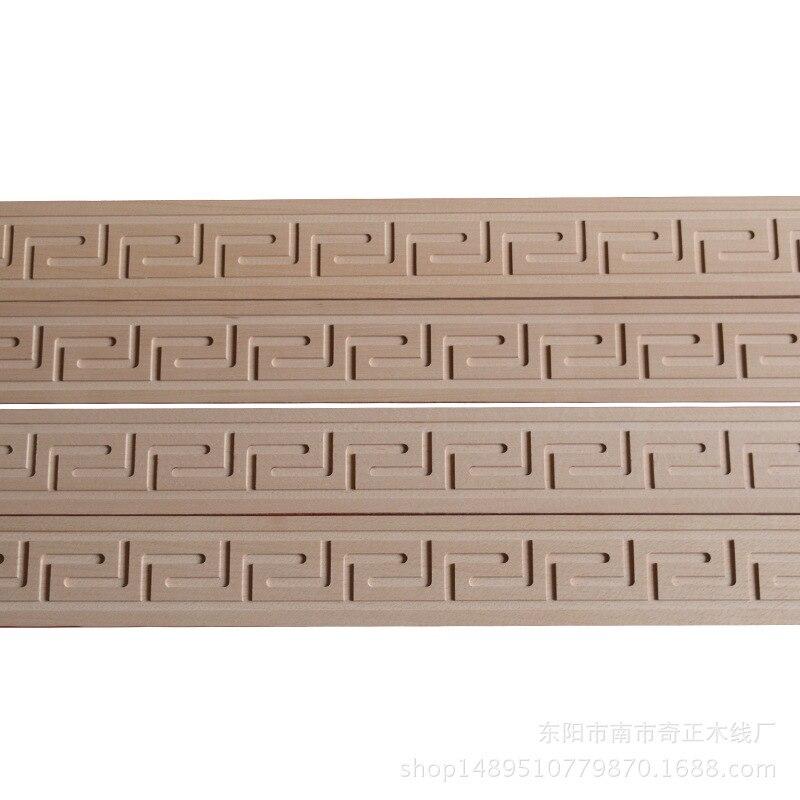 Напрямую от производителя продажа твердых деревянных строительных блоков декоративные линии Great Wall Line миллион слов настраиваемая линия