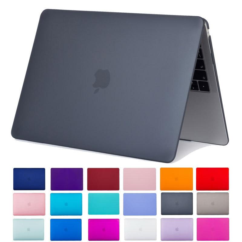 Transparent Matte Case For Mac Book A1466 A1932 A1278 A1708 A1502 A2159 A1278 A1398 For Macbook Air Pro Retina 11 12 13 15 Cover