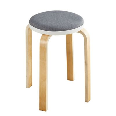 Solid wood stool home dining stool simple thickening stool creative small sofa stool