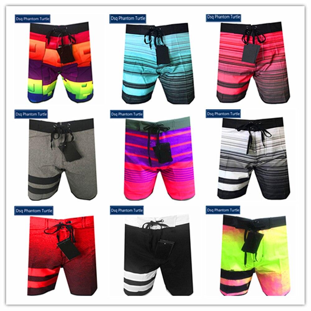 Primavera verão 2020 marca superior dsq fantasma tartaruga praia board shorts homens elastano elástico skate sexy banho 100% secagem rápida