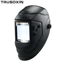 Управление Большой вид eara 4 дуговой датчик DIN5-DIN13 Солнечная Авто Затемнение TIG MIG MMA Сварочная маска/шлем/сварочный колпачок/объектив/маска дл...
