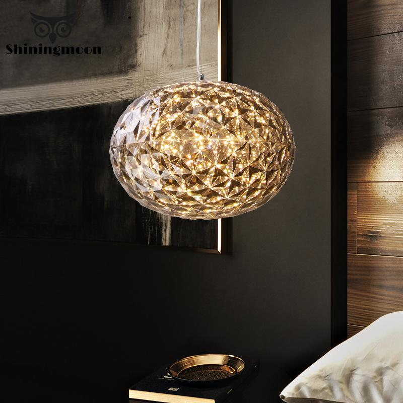 Modern Ball Pendant Lights Nordic Gold Hanglamp Kitchen Pendant Light Bedroom Living Room Lights Hanging Luminaire Suspension
