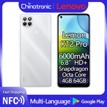 Lenovo Lemon K12 Pro 4G 64gb 4gbb LTE/GSM/WCDMA NFC Adaptive Fast Charge Octa Core Fingerprint Recognition