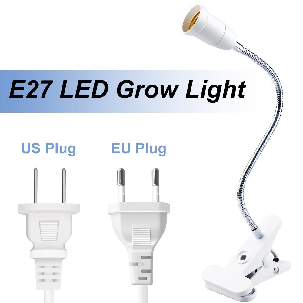 E27 Grow Light LED Full Spectrum Bulb Indoor Hydroponic Growth Light LED Phyto Lamp 220V Fito Lamp 85-265V Plant Bulb 2835SMD