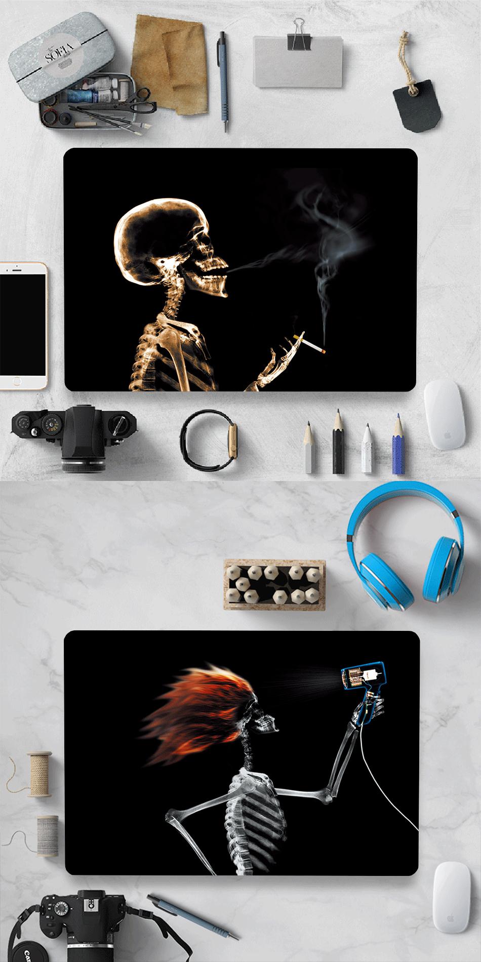 MTT black Skeleton Case for MacBook 8