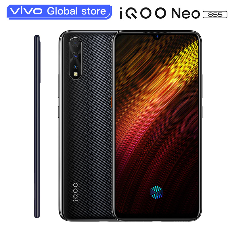 "vivo iQOO Neo 855 Snapdragon 855 4500mAh Battery 33W Fast Charging 6.38"" Celular Mobile Phone Al Triple Cameras Cell phones"