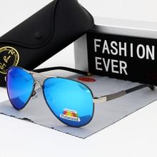Fashion Oval Polarized Sunglasses Men Brand Designer Driving Male Best Sun Glasses Black Frame UV400