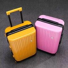 Ретро Высокое качество ABS+ PC чемодан на колёсиках Spinner роскошный алюминиевый каркас дорожные сумки для мужчин и женщин пароль чемодан с колесами