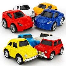 Мини Сплав литья под давлением Вытяните назад Модель автомобиля игрушка для мальчиков детская коллекция автомобиль маленький гоночный трек подарок моделирование