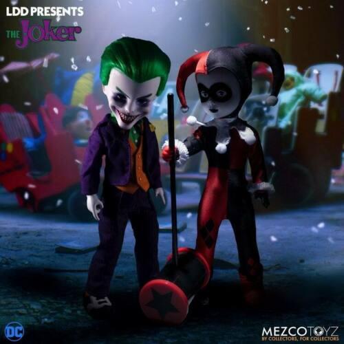 "Mezco Toyz 99378 10/"" DC Universe Joker Clown Movable Doll Collection Toy"